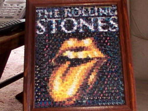 Amazing The Rolling Stones Golden Tongue Montage #ed/25