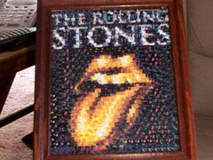 Amazing The Rolling Stones Golden Tongue Montage #ed/25 , Other - n/a, Final Score Products  - 1