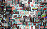 Amazing Coke Coca-Cola Classic logo Montage. 1 of 25!!! , Other - Coca Cola, Final Score Products  - 2