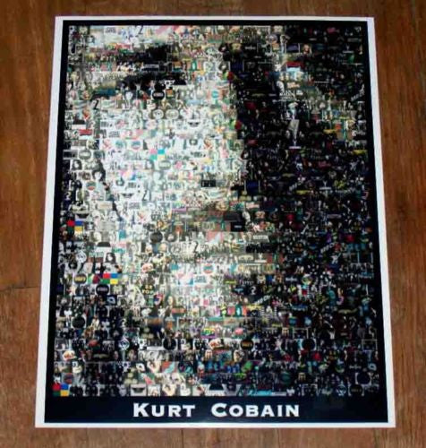 Amazing Rock & Roll Nirvana Kurt Cobain montage 1 of 25