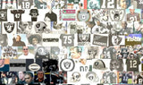 Amazing Oakland Raiders Ken Stabler Montage , Football-NFL - n/a, Final Score Products  - 2