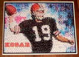 Amazing Cleveland Browns Bernie Kosar Montage. 1 of 25 , Football-NFL - n/a, Final Score Products  - 1