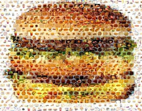 Amazing McDonalds Big Mac Cheeseburger FOOD Montage