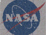 Amazing NASA Mission Patches collection Mosaic w/COA , Other - n/a, Final Score Products  - 1