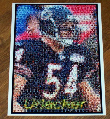 Amazing Chicago Bears Brian Urlacher Montage. 1 of 25 , Football-NFL - n/a, Final Score Products  - 1