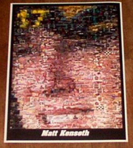 AMAZING Limited Edition NASCAR Matt Kenseth Montage