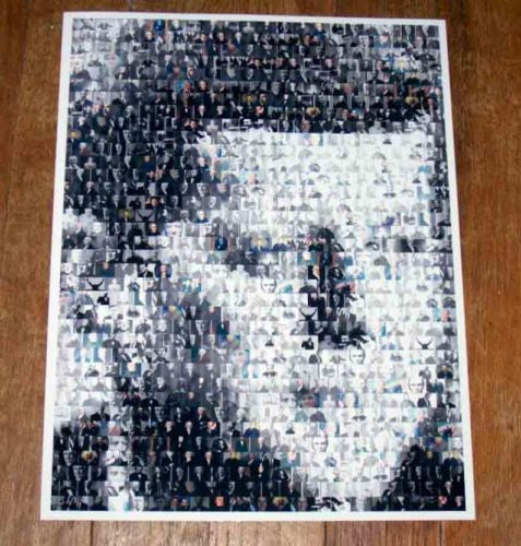 Amazing RARE John F. Kennedy PRESIDENTS Montage #ed , 1961-63 John F. Kennedy - n/a, Final Score Products  - 1