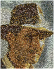Indiana Jones Treasur Coin Mosaic Print Limited Edition , Color - n/a, Final Score Products  - 1