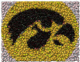 Iowa Hawkeyes Best Bar Game Dorm Room Sign framed w/COA , College-NCAA - n/a, Final Score Products  - 1