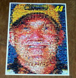 Amazing #44 Dale Jarrett NASCAR Montage. 1 of only 25 , Racing-NASCAR - n/a, Final Score Products  - 1
