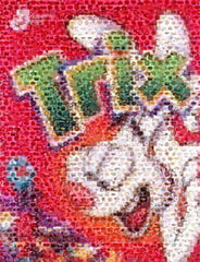 Amazing TRIX Rabbit Cereal Pop Art Montage Only 25 made , General Mills - n/a, Final Score Products  - 1