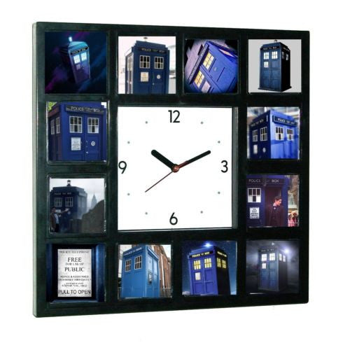 Doctor Dr. Who Tardis Glow In The Dark 12 Clock numbered LIMITED EDITION , Watches & Clocks - n/a, Final Score Products  - 1