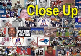 Amazing New England Patriots logo Montage #ed to 25 , Football-NFL - n/a, Final Score Products  - 2