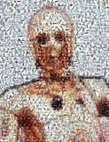 Amazing Star Wars C3PO C3P0 Montage 1 of only 25 EVER , Other - star wars, Final Score Products  - 1