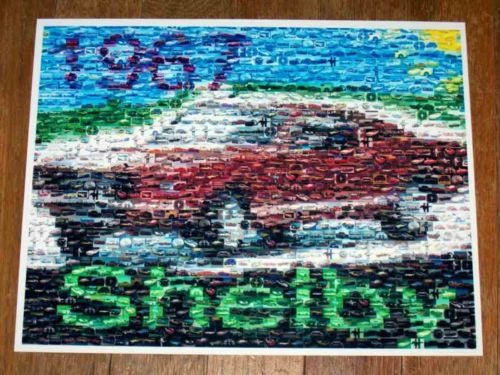 Amazing 1967 Shelby Ford Mustang Montage #ed to 25 , Ford - Ford, Final Score Products  - 1