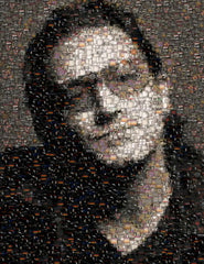 Amazing U2 Bono Album Cover Mosaic art print with COA , Other - n/a, Final Score Products  - 1