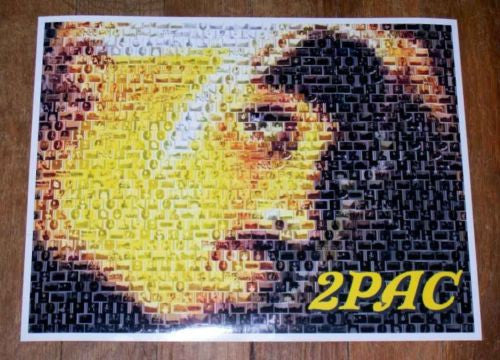 Amazing 2Pac Tupac Shakur African-American Montage #ed , Other - n/a, Final Score Products  - 1