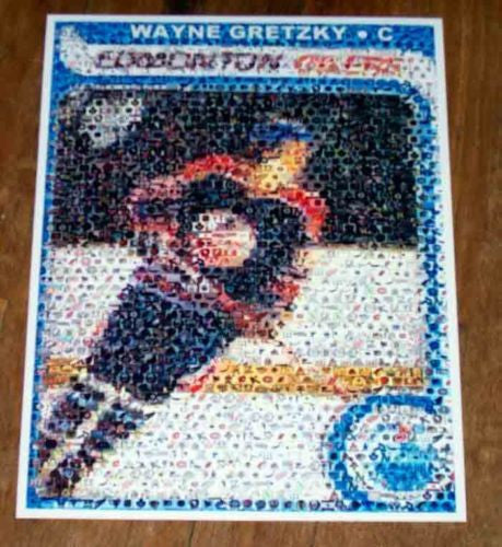 Amazing 1979 80 OPC WAYNE GRETZKY ROOKIE Card Montage , Hockey-NHL - n/a, Final Score Products  - 1