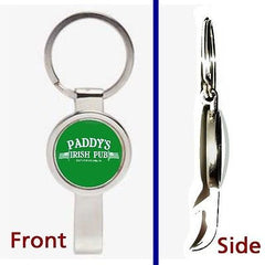 Always Sunny In Philadelphia Paddy's Pub Pennant Keychain secret bottle opener , Keyrings - n/a, Final Score Products