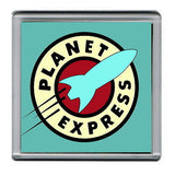 Futurama Planet Express Coaster 4 X 4 inches , Other - n/a, Final Score Products