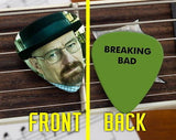 Set of 3 Breaking Bad Walter White Heisenberg premium Promo Guitar Pick Pic , Other - n/a, Final Score Products