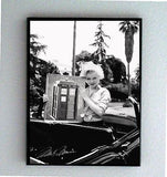 Framed Marilyn Monroe holding Doctor Dr. Who Tardis with faux signed autograph , Other - n/a, Final Score Products