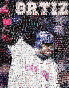 Amazing Boston Red Sox David Ortiz Montage w/COA