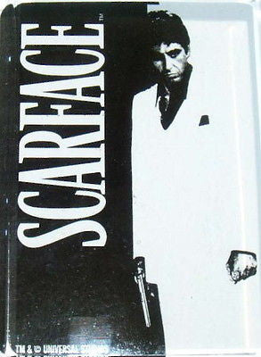 Official Al Pacino Scarface Scar Face Fridge Magnet big 2.5 X 3.5 inches , Fridge Magnets - n/a, Final Score Products