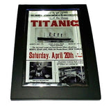 Mini Titanic Poster Nice Framed Art Print Display Memorabilia Man Cave , Prints - n/a, Final Score Products