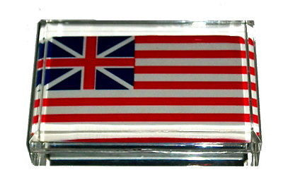 American Flag 1776 Acrylic Executive Desk Paperweight , United States, Country Flags - n/a, Final Score Products
