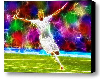 Framed Cristiano Ronaldo Magical 9X11 Art Print Limited Edition w/signed COA