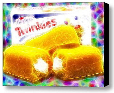 Framed Magical Box of Hostess Twinkies 9X11 inch Limited Edition Art Print w/COA