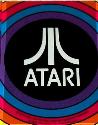 Official Atari Fridge Magnet big 2.5 X 3.5 inches , Video Game Memorabilia - n/a, Final Score Products
