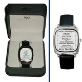 Dr. Who Tardis Police Sign watch real Leather Band & Premium BOX , Dr. Who - n/a, Final Score Products