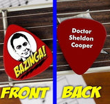The Big Bang Theory Sheldon Cooper Bazinga Guitar Pick Promo , Other - n/a, Final Score Products