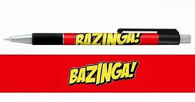 The Big Bang Theory Sheldon Cooper BAZINGA Pen buy more get free shipping , Other - n/a, Final Score Products