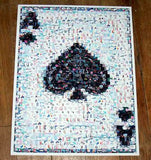 Amazing Ace of Spades POKER WSOP Montage Limited w/COA , Other - n/a, Final Score Products