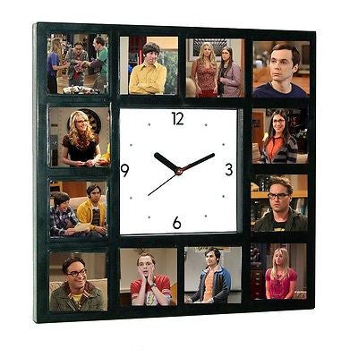 The Big Bang Theory Leonard Penny Sheldon Raj Amy Howard Clock 12 pictures , Watches & Clocks - n/a, Final Score Products
