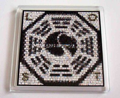 ABC tv show LOST mosaic Coaster 4 X 4 inches