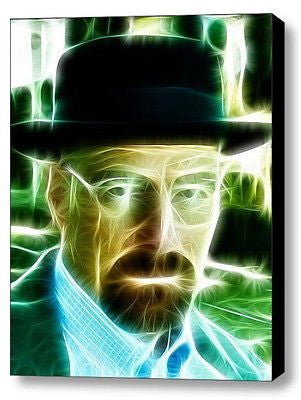 Framed 9X11 Breaking Bad Walter White Heisenberg Limited Edition Print w/COA , Other - n/a, Final Score Products