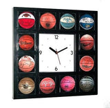 Michael Jordan signed basketball Clock w/12 pictures , Basketball-NBA - n/a, Final Score Products