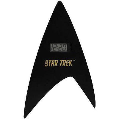 14 inch Star Trek Delta Shield Digital Wall Clock , Other - n/a, Final Score Products