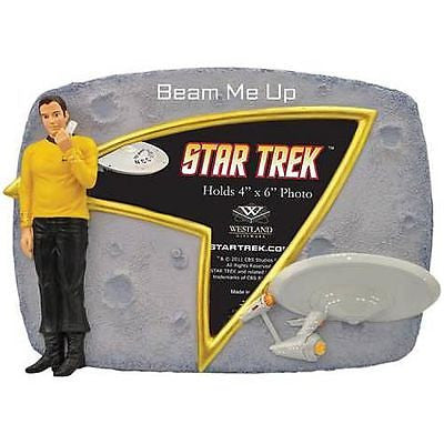 Official NEW Star Trek Captain Capt. Kirk Beam Me Up Picture Frame in great Box , Other - n/a, Final Score Products