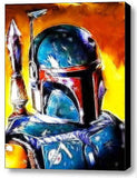 Framed Star Wars Magical Boba Fett 9X11 inch Limited Edition Art Print w/COA , Other - n/a, Final Score Products