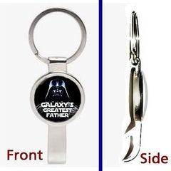 Star Wars Darth Vader Galaxy's Greatest Best Father Dad Keychain bottle opener , Darth Vader - n/a, Final Score Products