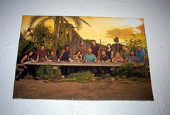ABC tv show LOST Last Supper 19 X 13 cast print poster , Color - n/a, Final Score Products