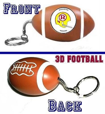 Washington Redskins 1971 retro helmet Football Key Chain NEW Keychain Key Ring , Football-NFL - n/a, Final Score Products