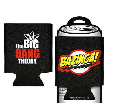 Big Bang Theory Bazinga! Logo Beer, Soda or Pop Can Hugger , Other - n/a, Final Score Products