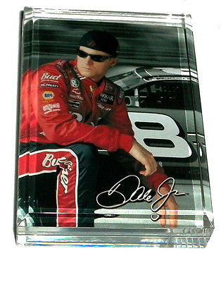Dale Earnhardt Jr Acrylic Executive Desk Paperweight , Racing-NASCAR - n/a, Final Score Products
