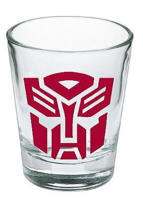 Transformers red Autobot Shot Glass LIMITED EDITION , Other - n/a, Final Score Products